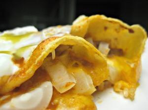 Bean and Cheese Enchiladas (Espinosa Kitchen)