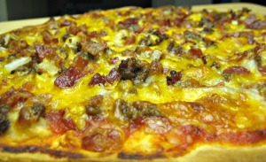 Bacon Cheeseburger Pizza (Espinosa Kitchen)