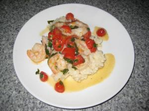 Shrimp Risotto (www.espinosakitchen.wordpress.com)