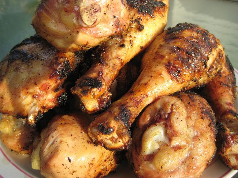 Pan Grilled Chicken Grilled Chicken Drumsticks