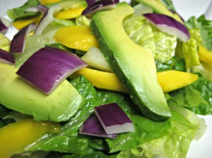 Mango, Avocado and Lime Salad (www.espinosakitchen.wordpress.com)