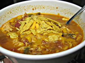 Chicken Enchilada Soup (Espinosa Kitchen)