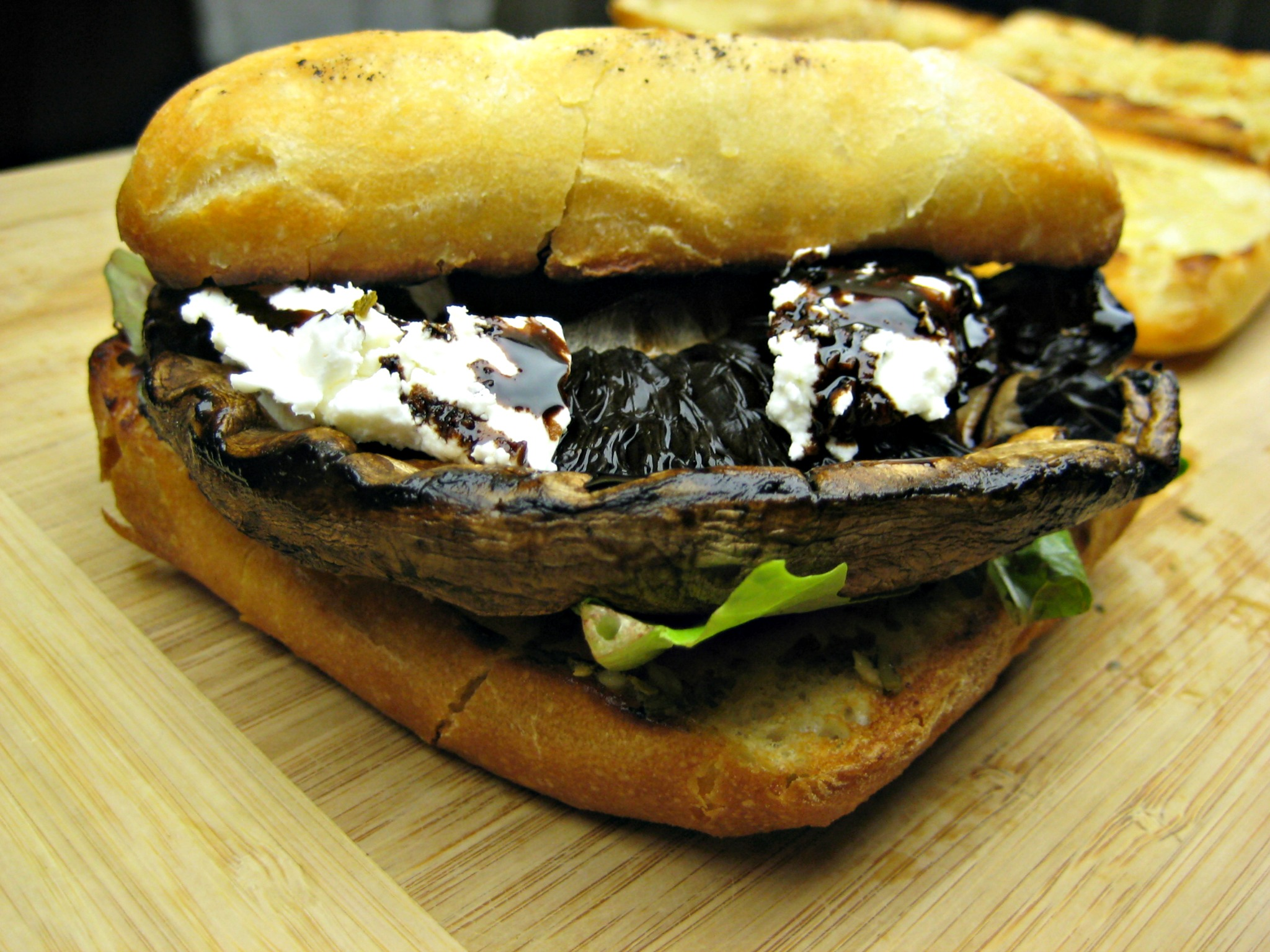 Portobello Mushroom Burgers (Espinosa Kitchen).