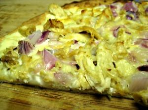 White Chicken Garlic Pizza (Espinosa Kitchen)