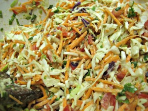 Asian Slaw Salad (Espinosa Kitchen)