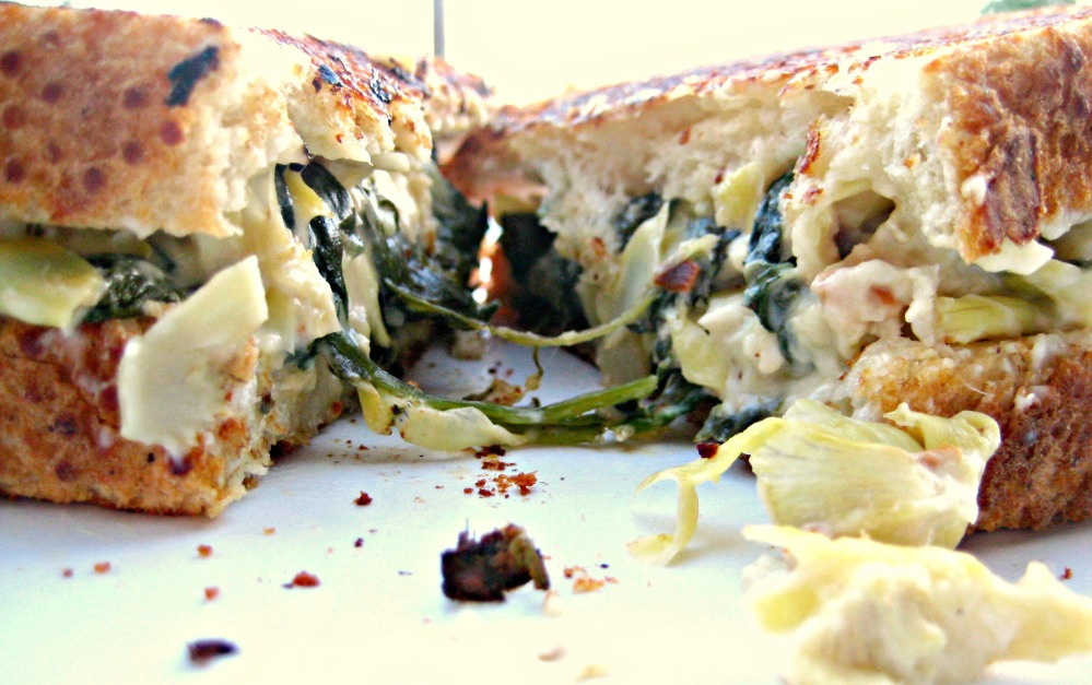 Spinach and Artichoke Melt