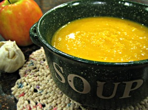 Butternut Squash and Apple Soup (Espinosa Kitchen)