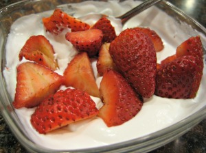 Strawberries and Coconut Cream (Espinosa Kitchen)
